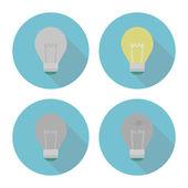Лампочка — Cтоковый вектор