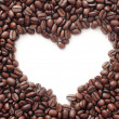 Royalty-Free Stock Photo: Heart of the coffee