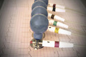 ECG electrodes — Stock Photo