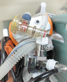 Valve portable breathing apparatus — Stock Photo
