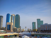 Astana. the central part. — Stock Photo