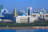Astana. The central part of the city. embankment — Stock Photo
