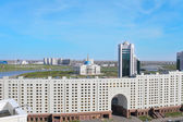 Astana. Kazakhstan. Business and cultural center of the city. — Stock Photo