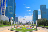 Astana in sunny summer day — Stock Photo