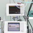 Monitoring technology and assistance in the modern ICU — Stock Photo