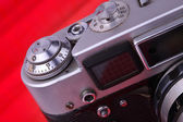 Old camera. Camera Issue 40-60 years. — Stock Photo