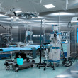 Operating room in cardiac surgery — Stock Photo