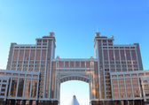 Panorama of office buildings in the center of Astana. Kazakhstan — Stock Photo