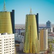 Astana. fragment of central part of city. — Stock Photo #33575777