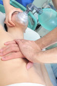 Resuscitation techniques. Resuscitation of the patient with two — Stock Photo