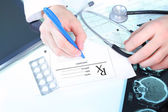 Doctors prescription — Stock Photo