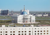 Residence of the President of Kazakhstan and a view of Astana  — Stock Photo