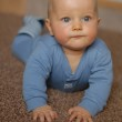 The baby learns to crawl — Stock Photo #20796273