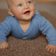 The baby learns to crawl — Stock Photo #20796417