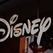 Stock Photo: Sign of Disney