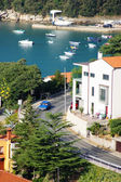 Coastal town Rabac and the Croatia's sea — Foto Stock
