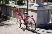 A pink bike — Photo