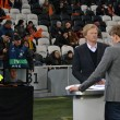 Oliver Kahn as a guest and expert of the match of the Champions League - Stock Photo