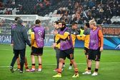 Shakhtar before the match of the Champions League — Stock Photo