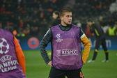 Rakitskiy before the match of the Champions League — Stock Photo