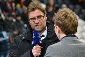 Jurgen Klopp - Borussia Dortmund coach — Stock Photo