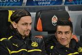 Voetbal spel Shakhtar d. - Bor. Dortmund — Stockfoto