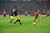 Taison in the match against Borussia Dortmund — Stock Photo