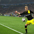 Marco Reus in action during the Champions League match - Stock Photo