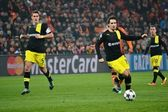 Football game Shakhtar -  Borussia — Foto de Stock