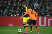 Błaszczykowski against Rath in the match of the Champions League — Stock Photo