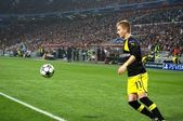 Marco Reus in action during the Champions League match — Stock Photo