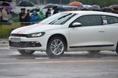 Unidentified drivers during drag racing championship — Stok fotoğraf