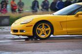正体不明のドライバーの間のドラッグ レース選手権 — ストック写真