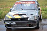 Sport car on drag racing championship — Stock fotografie