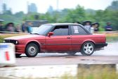 Unidentified drivers during drag racing championship — Photo