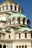 Vertical general view of the Alexander Nevski Cathedral Sofia Bu — Stock Photo