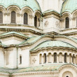 Horizontal view of facade of Alexander Nevsky Cathedral, — Foto de stock #23756549