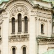 Tower from the facade of the Alexander Nevsky Cathedral, Sofia, — Stock Photo #23756553