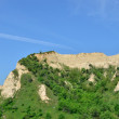 Постер, плакат: Melnik Sand Pyramids are the most fascinating natural phenomena