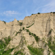 Melnik Sand Pyramids are the most fascinating natural phenomena — Stok fotoğraf