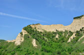 Melnik Sand Pyramids are the most fascinating natural phenomena — 图库照片