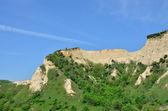 Piramidi di melnik sabbia sono i fenomeni naturali più affascinanti — Foto Stock