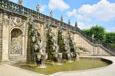 Grand Cascade in the Herrenhausen Gardens, Baroque gardens, esta — Stock Photo