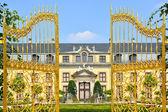 Golden gate in Herrenhausen Gardens, Hannover, Germany — Stock Photo