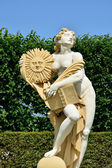 Sun goddess sculpture, Herrenhausen Gardens, Hannover, Lower Sax — Stock Photo