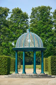 Pavilion in Herrenhausen Gardens, Hannover, Lower Saxony, German — Stock Photo