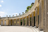 Colonnade from 18th century in Sanssouci park — Stock Photo