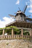 Old Windmill in Sanssouci Park, Potsdam, Germany, Europe — Stock Photo