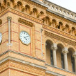 Clock tower of the Hannover central station — Stock Photo #44907173