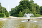 Fountain in Herrenhausen Gardens, Hannover, Lower Saxony, German — Stock Photo